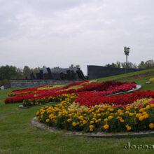 Парк Победы и Поклонная гора в Москве — осенние зарисовки