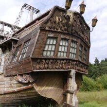 Пиратский городок в Подмосковье (Киногород Piligrim Porto)
